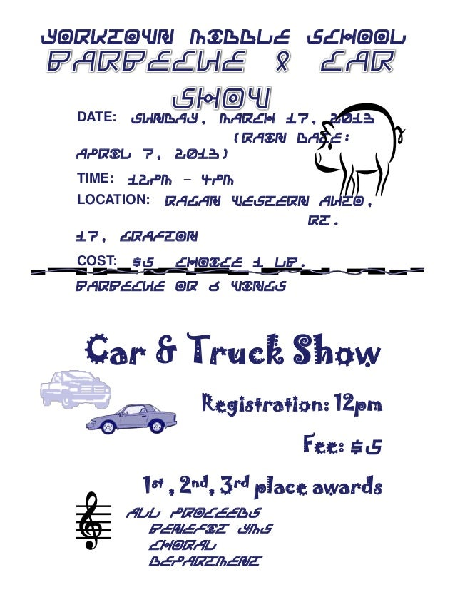 Choral barbecue  car show 1