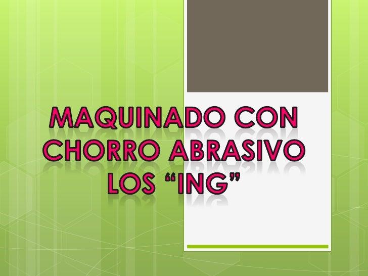"""INGENIERIA INDUSTRIAL         """"402""""PROCESOS DE FABRICACION"""
