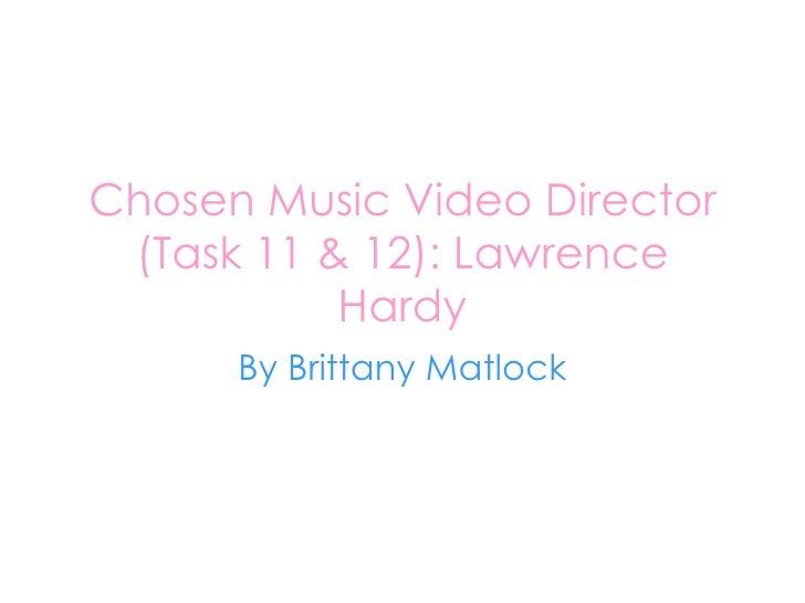 Chosen  Music  Video  Director 2