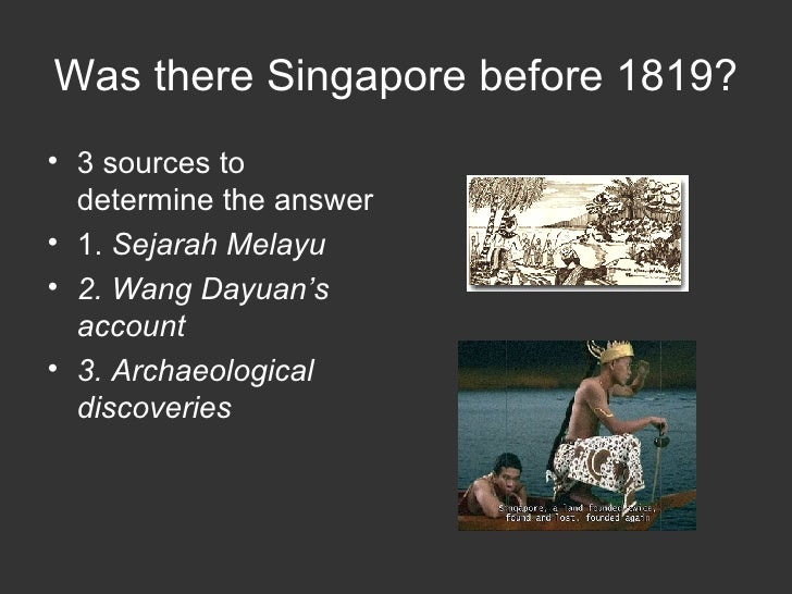 Chp 1 Was There Singapore Before 1819