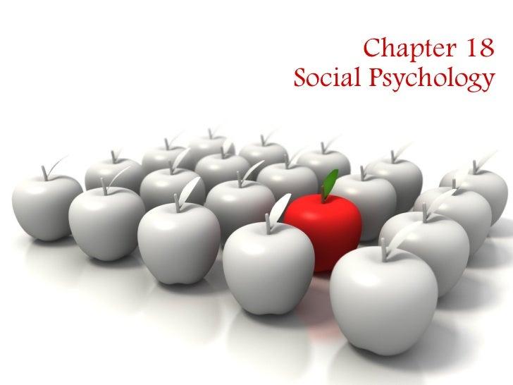 Chp.18 social psych