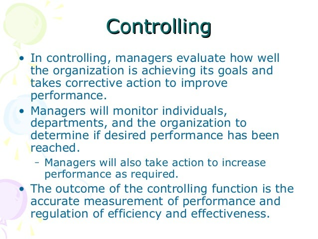 controlling management function mcdonalds Mcdonald's organizational structure analysis emphasizes corporate control for example, mcdonald's ceo directs the mcdonald's operations management.