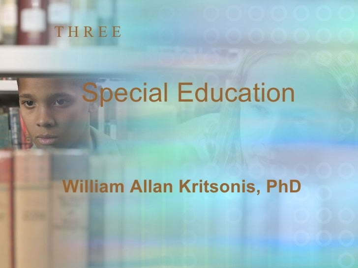 Chp[1]. 3 Special Education
