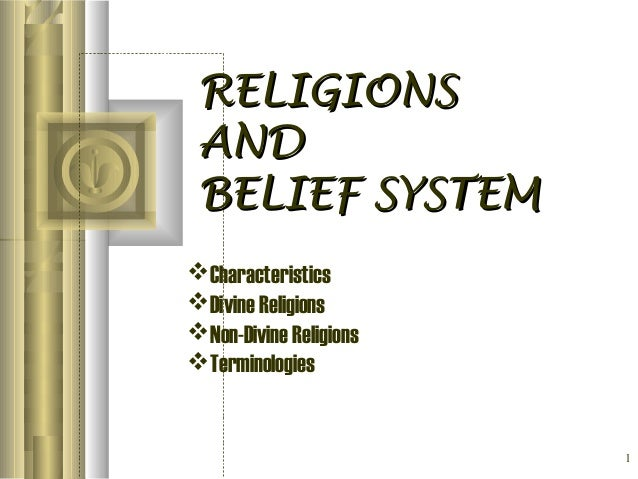 Chp2.religions & belief system