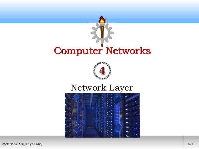 Computer Networks                            Network LayerNetwork Layer (2-89-90)                       4-1