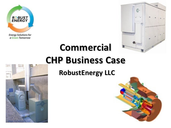 Commercial CHP Business Case RobustEnergy LLC