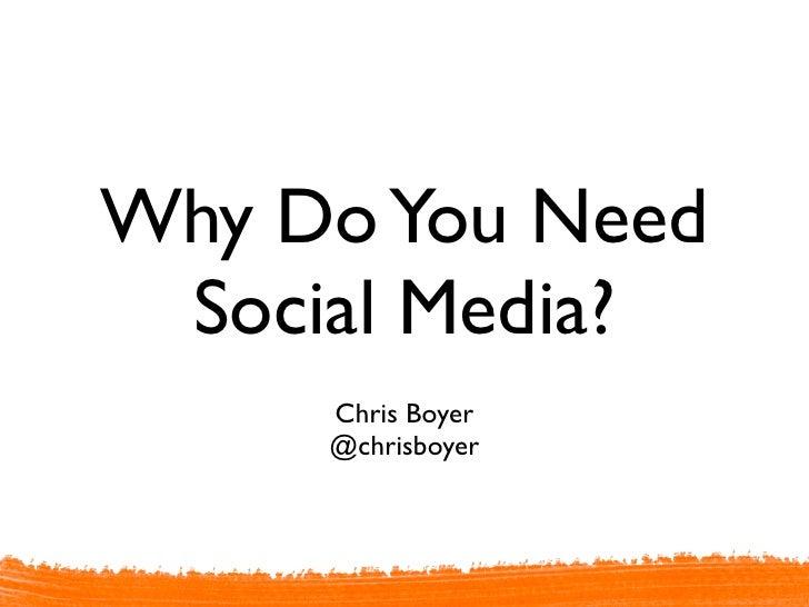 Why Your Hospital Needs Social Media