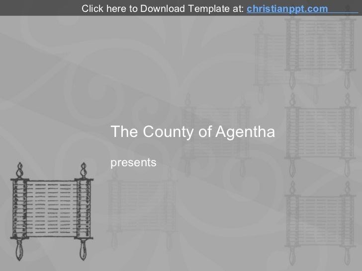 Pentateuch PowerPoint Template