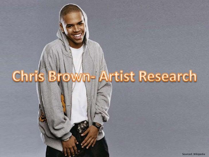 Chris Brown Artist Research
