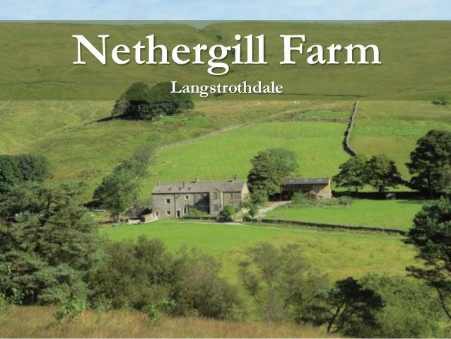 Chris Clark presents their farm - Nethergill Farm, Yorkshire NP
