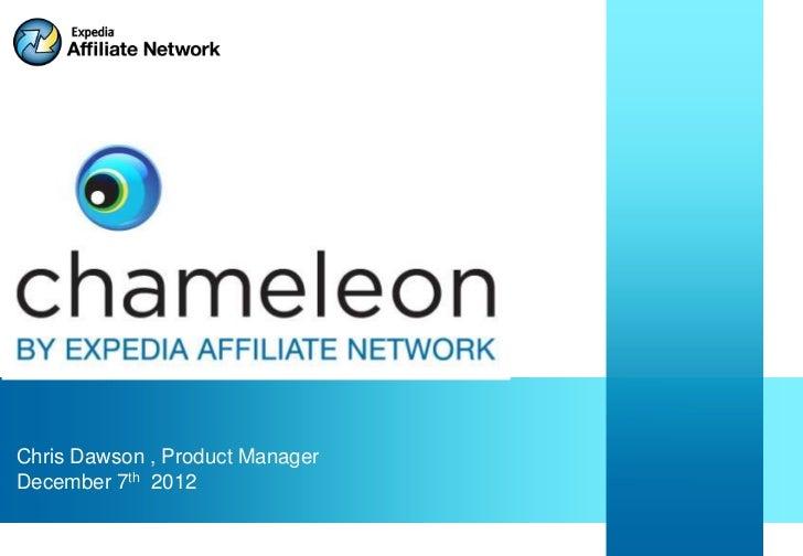 EAN Partner Summit 2011: Hands on Chameleon