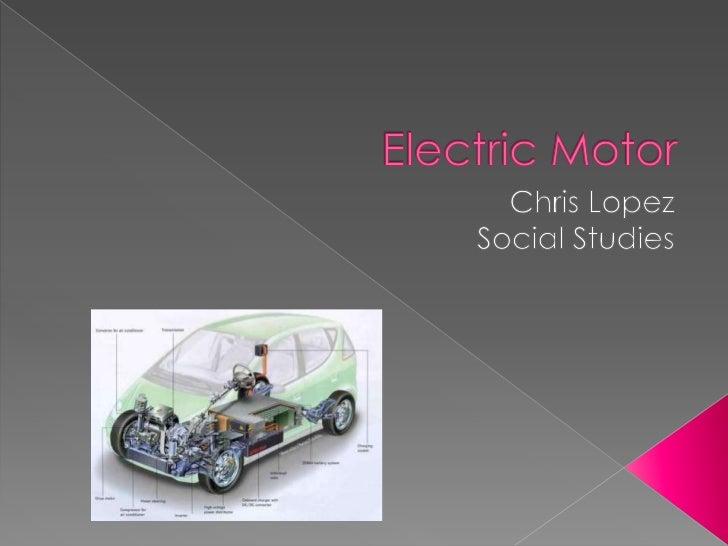 Chris electric motor