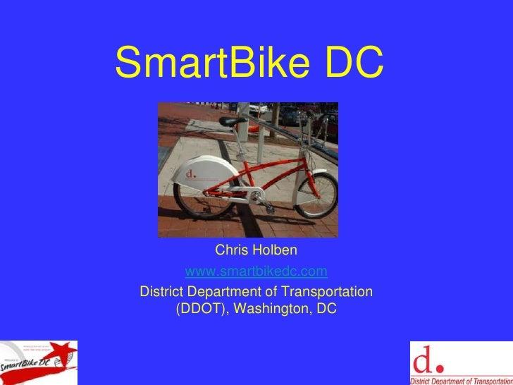 DDOT SmartBike Program