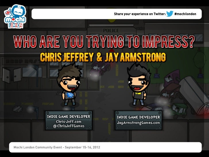 Who Are You Trying to Impress? by ChrisJeff and Jay Armstrong