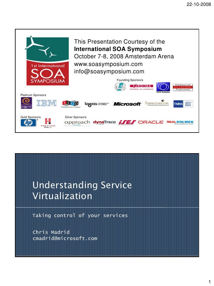 Chris  Madrid    Service Virtualization