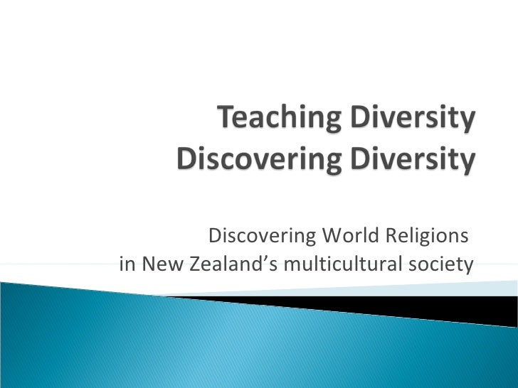 Discovering World Religions  in New Zealand's multicultural society