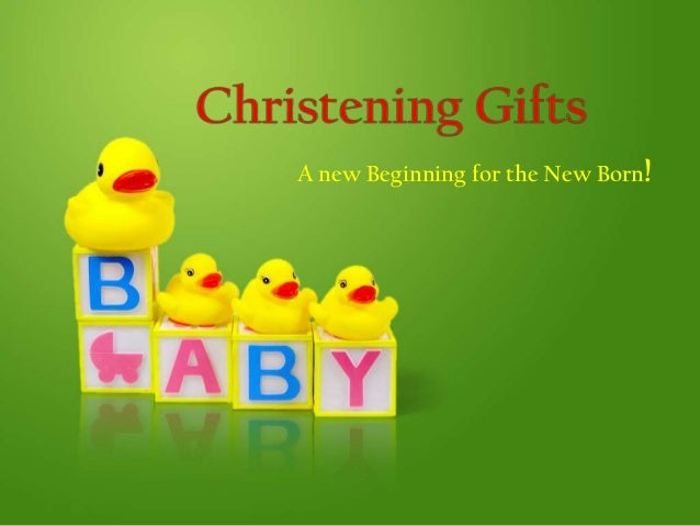 A new Beginning for the New Born!