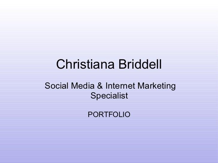Christiana briddell