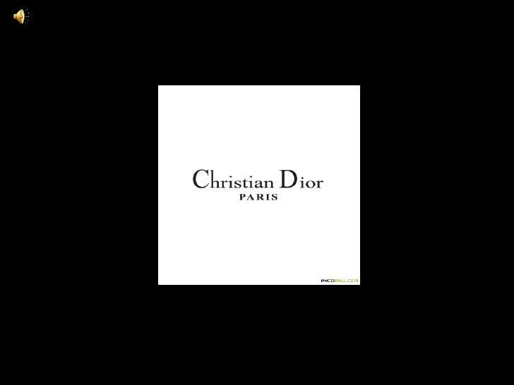 Christian dior ppt