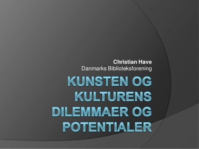 Christian Have Danmarks Biblioteksforening