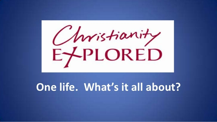 Christianity Explored Training