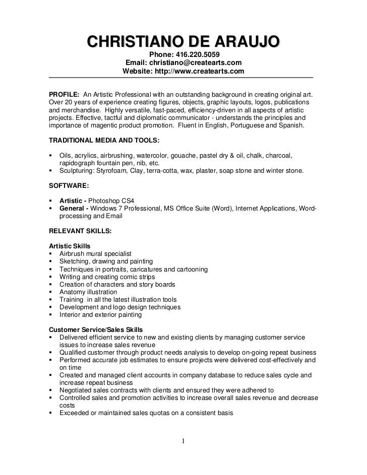 Automotive Painter Resume Sample