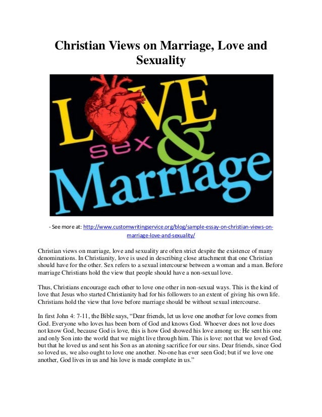 the concept of marriage essay