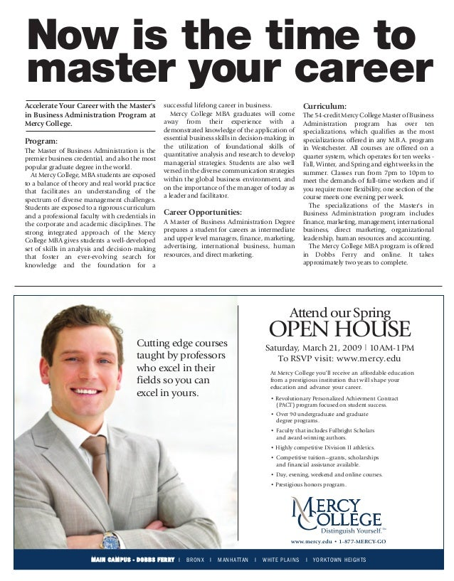 mercy_amny_MBA_advertorial_3-21_OH:Layout 2      3/3/09   3:36 PM    Page 1       Now is the time to       master your car...