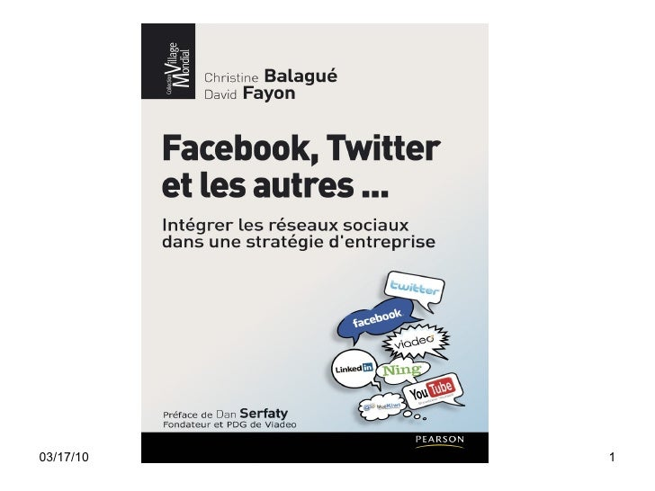 "PARIS2.0 = Intervention de Christine Ballagué, auteur de ""Facebook, Twitter et les autres"""