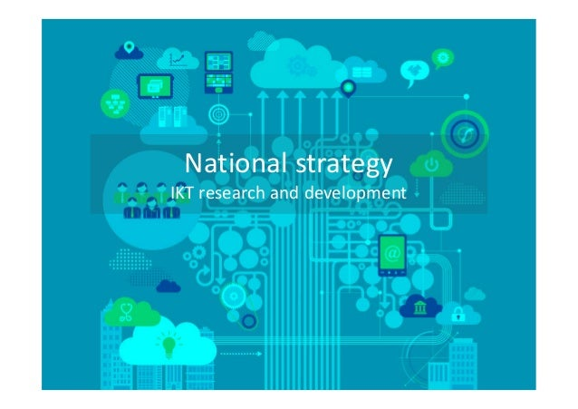 National strategy: ICT research and development, Christine Hafskjold, FAD