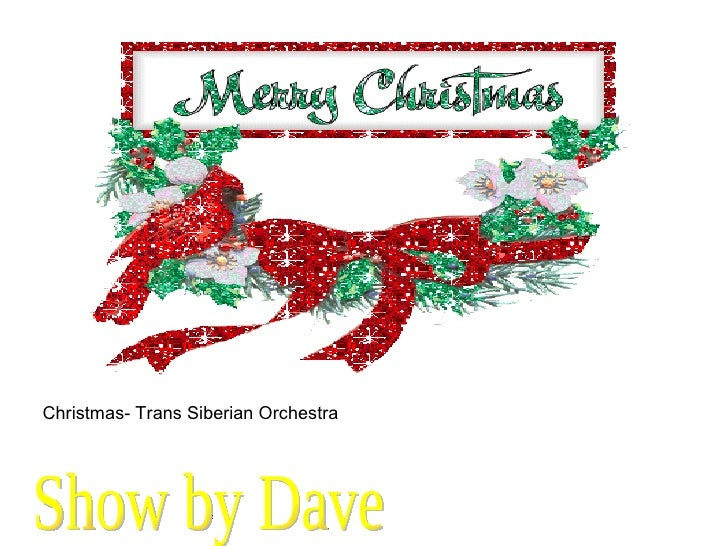 Show by Dave Christmas- Trans Siberian Orchestra