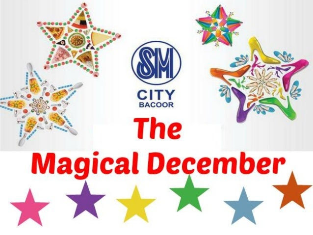 The Magical December in SM Bacoor