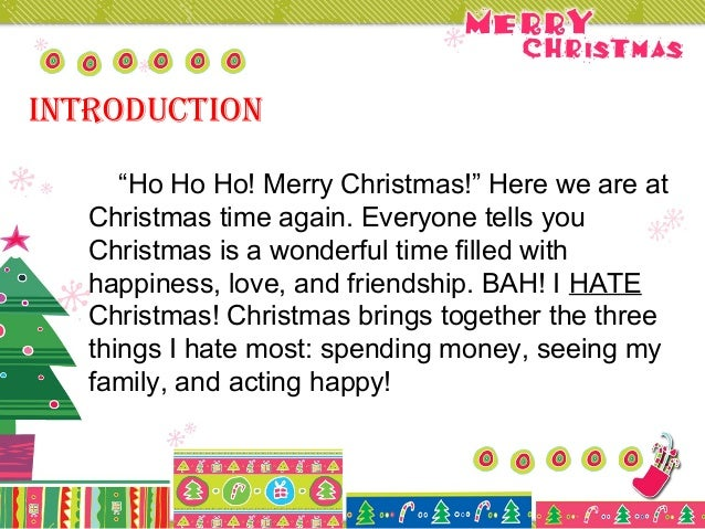descriptive paragraph on christmas Use this teacher model to teach your students how to write descriptions a sample description web, a blank description web, and four different revisions of a descriptive paragraph are provided.