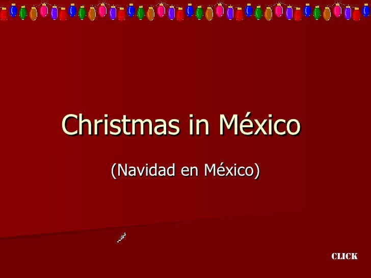 Christmas In Mexico UbUc8pT4