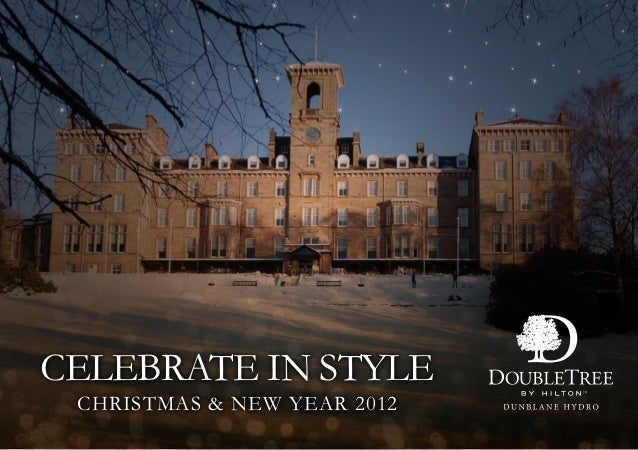 Christmas & New Year 2012 - Doubletree by Hilton Dunblane Hydro Hotel