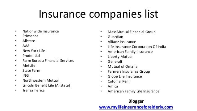Image Gallery highest rated life insurance companies