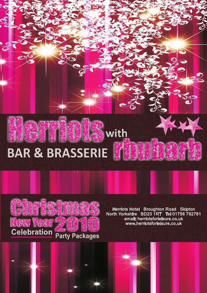 Christmas 2010 brochure