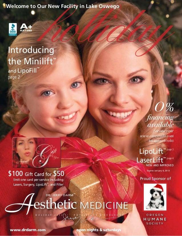 Dr. Darm, Christmas 2012 Online Brochure