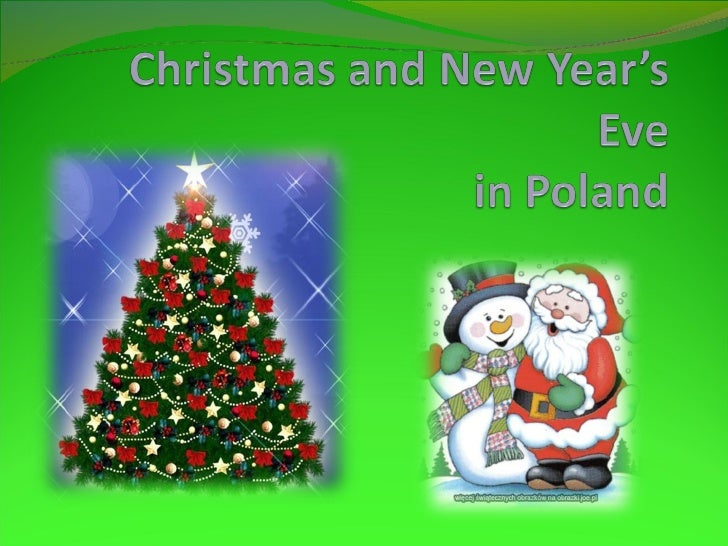 Christmas and new year's eve in poland dominika 12