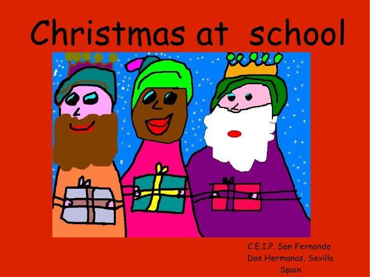 Christmas at  school C.E.I.P. San Fernando  Dos Hermanas, Sevilla Spain