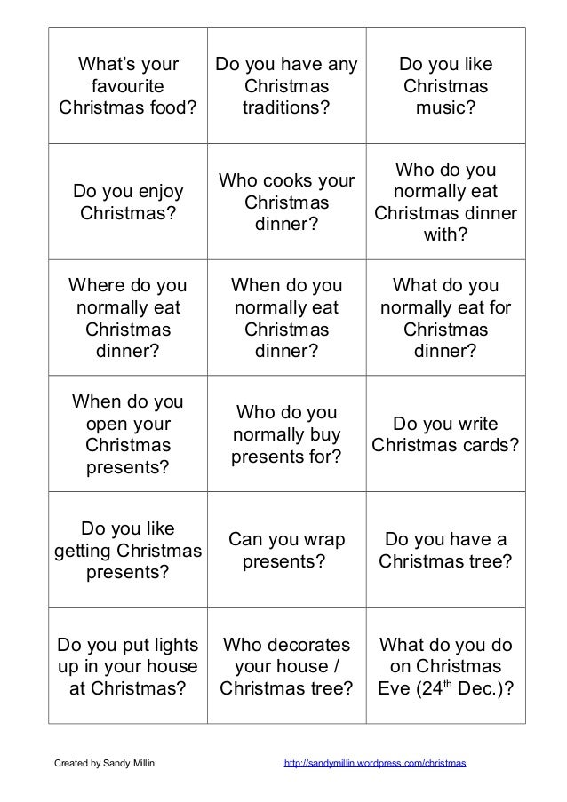 Christmas speaking cards