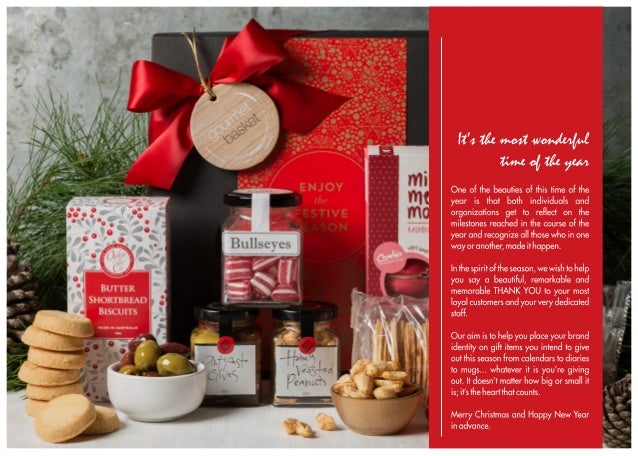 End of year thank you campaign for High end client gifts