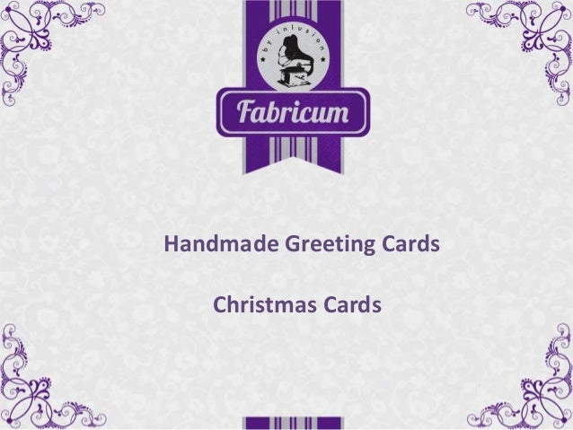 Handmade Greeting Cards Christmas Cards