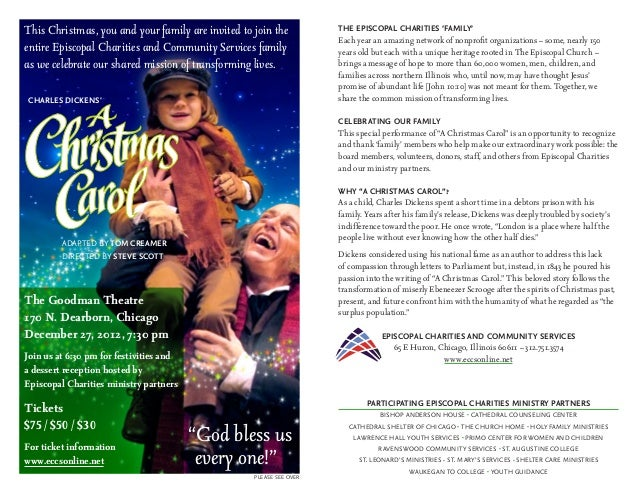 This Christmas, you and your family are invited to join the          THE EPISCOPAL CHARITIES 'FAMILY'                     ...