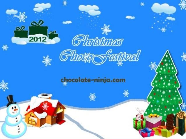 Christmas choco festival