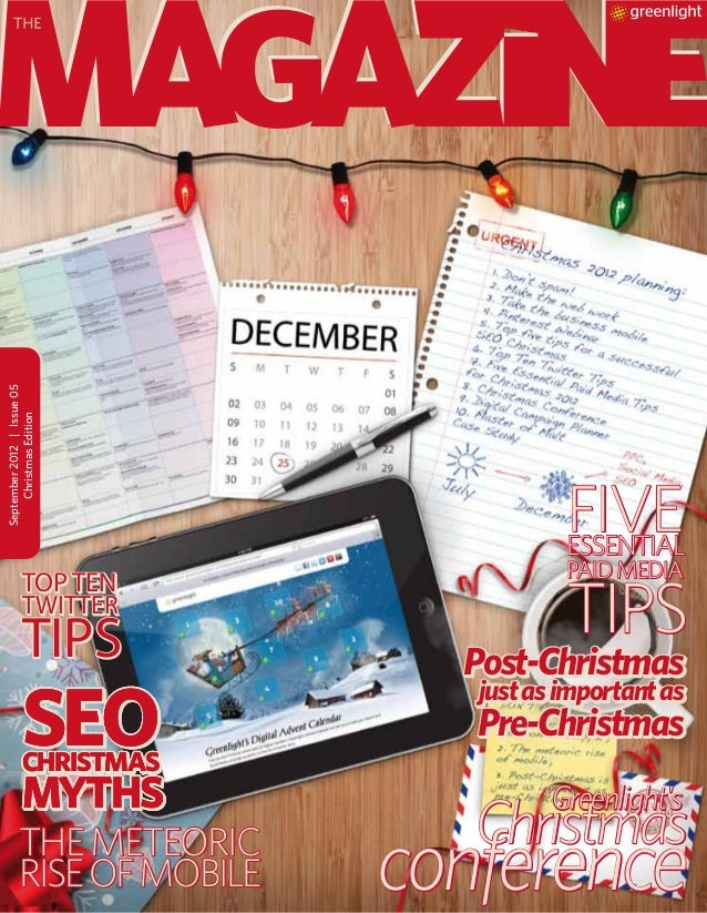 Greenlight's Magazine: Christmas Edition
