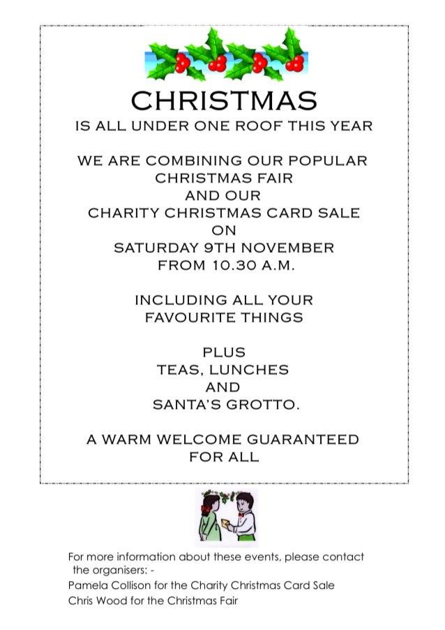 Christmas fairs 2013