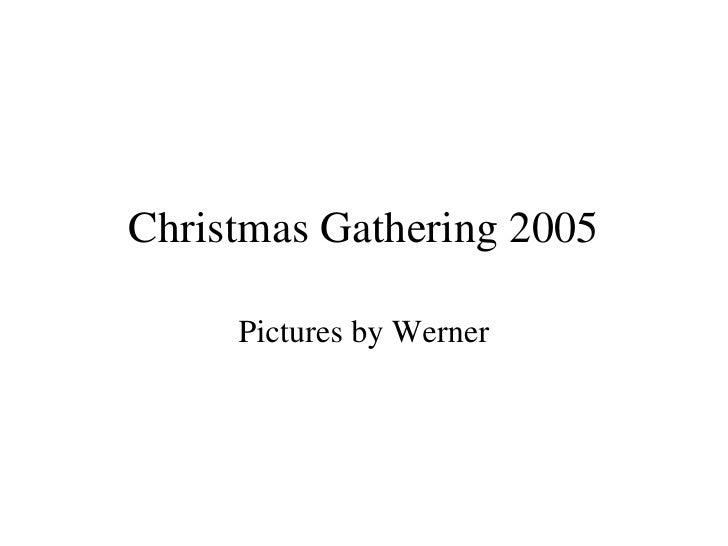 Christmasgathering2005