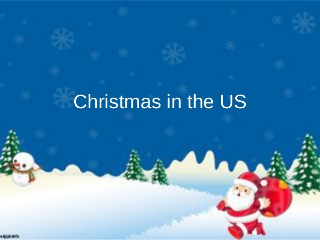 Christmas in the US