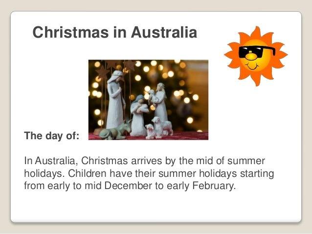 Christmas in Australia - Frosty Boy Australia
